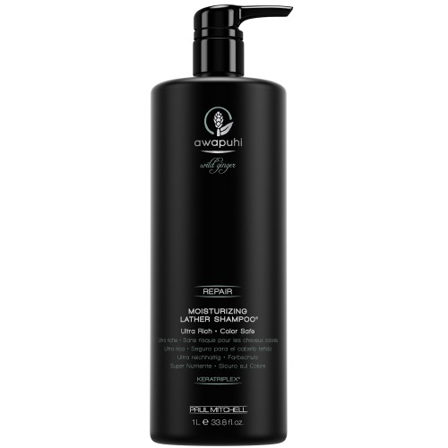 Paul Mitchell Awapuhi Wild Ginger Moisturizing Lather Shampoo 1000 ml