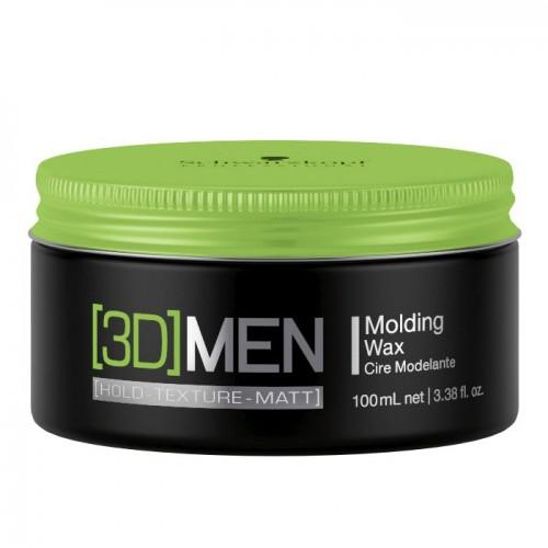 Schwarzkopf 3D Men Molding Wax 100 ml