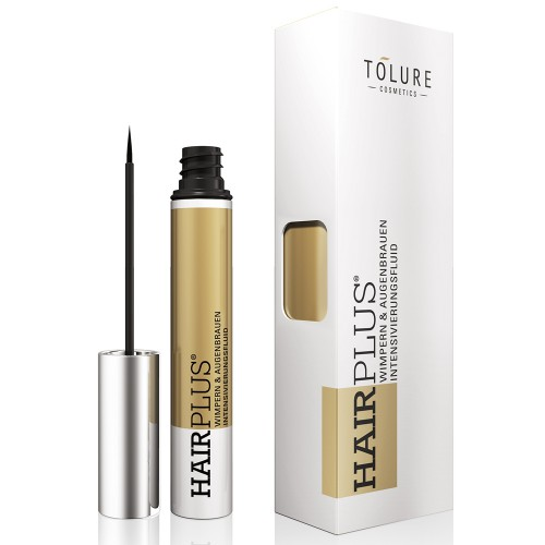 Tolure Hairplus 3 ml - Wimpernserum & Augenbrauenserum