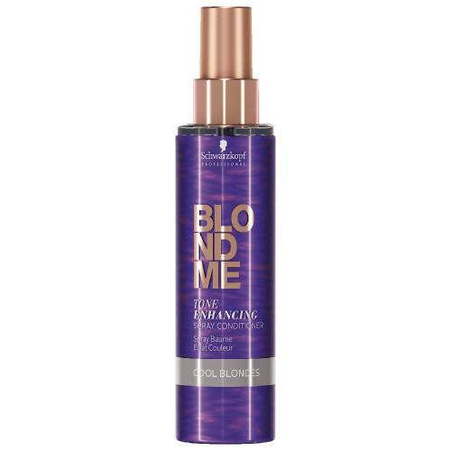 Schwarzkopf Blondme Color Correction Spray Conditioner Cool Ice 150 ml