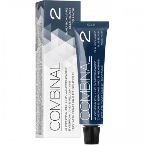 Combinal Profi-Wimpernfarbe 2 blau-schwarz 15 ml