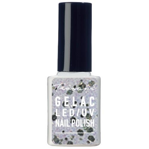 Trosani GEL LAC Glitter White 10 ml