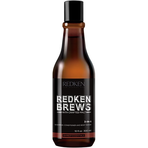 Redken Brews 3-in-1 Shampoo & Conditioner & Bodywash 300 ml