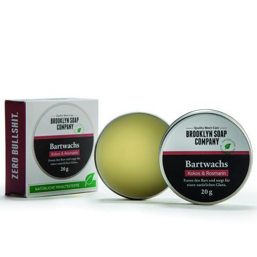 Brooklyn Soap Co. Bartwachs 20 g