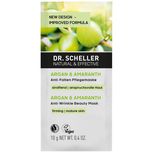 Dr. Scheller Argan & Amaranth Anti Falten Pflegemaske 10 ml