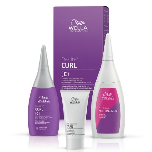 Wella Creatine Curl C/S Hair Kit