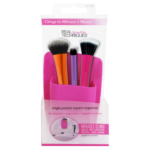 Real Techniques Single Pocket Expert Organizer - Pink