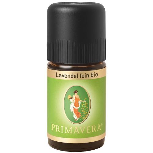 PRIMAVERA Lavendel fein Bio 5 ml