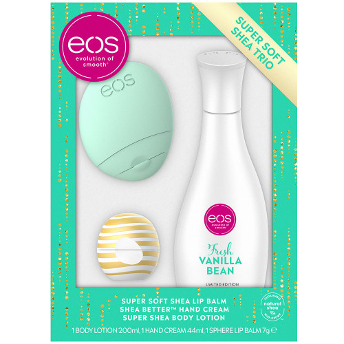 eos Whipped Vanilla Frosting Lip & Lotions Set Green