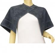 Beautytex Halsausschnitt-Handtuch Schwarz 50 x 90 cm