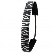 Ivybands Zebra Black White Haarband