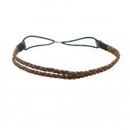 Comair Haarband braun/zweifarbig