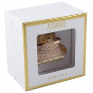 Alexandre de Paris Pince Vendôme 45 mit Strass in Champagner in Geschenkebox