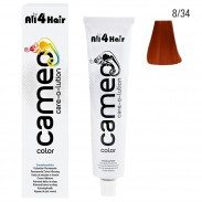 LOVE FOR HAIR Professional cameo color care-o-lution 8/34 hellblond gold-rot 60 ml