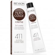 Revlon Nutri Color Cream 411 Ash Brown 100 ml