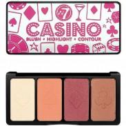 W7 Cosmetics Casino Palette 16 g