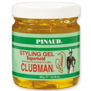 Clubman Pinaud Super Hold Styling Gel 473 ml