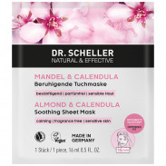 Dr. Scheller Mandel & Calendula beruhigende Tuchmaske 16 ml