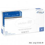 MaiMed Solution 100 Nitril 100 Stück Blau  Gr. S