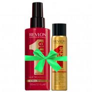 Revlon Uniq One All in One Hair Treatment 150 ml + Gratis Dry Shampoo 75 ml