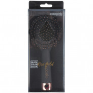 Coppelo black Rainbow rose gold large Brush