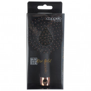 Coppelo black Rainbow rose gold small Brush