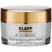 Klapp Cosmetics A Classic Neck & Décolleté Cream 50 ml