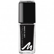 Manhattan Last & Shine Nail Polish 955 Matte Black 10 ml