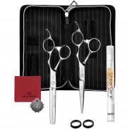 Olivia Garden Silk Cut Pro Schere + Effilierschere RH 5,75 Zoll