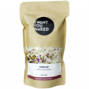 I WANT YOU NAKED Aroma-Bad Meersalz, Rose & Hibiskus 580 g Refill