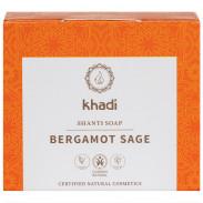 Khadi Shanti Soap Bergamot Sage 100 g