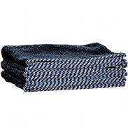1o1BARBERS Barber Towel Black/White 40x80cm