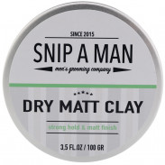 Snip A Man Dry Matt Clay 100 g