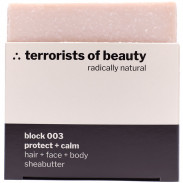 terrorists of beauty block 003 protect + calm Seife 100 g