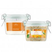 LaNature Badesalz & Duftkerze Orange