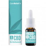 CannRelief Bio-Hanfsamenöl mit 5% CBD 10 ml