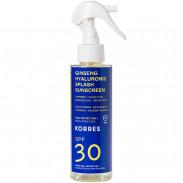 Korres Ginseng Hyaluronic Splash SPF30 2-Phasen-Sonnenschutzspray - Gesicht & Körper 150 ml