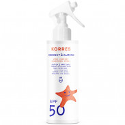 Korres Coconut & Almond SPF50 Sonnenemulsion für Kinder - Spray 150 ml