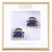 Alexandre de Paris Pince Vendômes Micro Double Giftbox Night blue