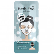 The Beauty Mask Company Tuchmaske Aktiv-Kohle Bubble Mask