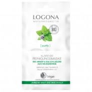 LOGONA Klärende Reinigungsmaske Bio-Minze & Salicylsäure 2x 7,5 ml