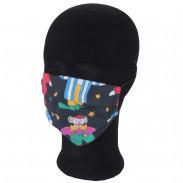 Solida Mund- und Nasenmaske 100% Polyester mit Bindeband, Dessin 18
