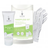 BIOTURM Handpflege-Set 50 ml + Handschuhe