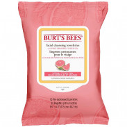 Burts Bees Facial Cleansing Towelettes Pink Grapefruit 30 Stück