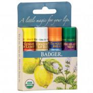 Badger Blue Classic Lip Balm 4er Set