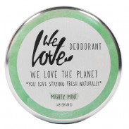 We Love The Planet Natürliche Deodorant Creme Mighty Mint 48 g