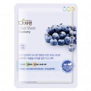 allNATURAL Mask Sheet Blueberry 25 ml