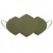 Eliware FFP2 Einweg Atemschutzmaske - grün 5 Stück