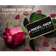 Hagel Geschenk-Gutschein Rose Rot