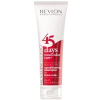 Revlon Revlonissimo 45 Days Brave Reds 2 in 1 Shampoo & Conditioner 275 ml